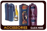 Wine Accessories, Picnic Time Wine Totes and Picnic Baskets