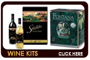 Wine Making Kits from Cellar Craft, RJ Spagnols and Winexpert